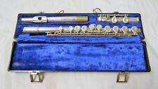 GEMEINHARDT 2SP SILVER PLATED FLUTE WITH HARD CASE