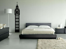 Big Ben London Wall Art Vinyl Decal Sticker Decorative Home Removable Silhouette