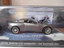 """ASTON MARTIN V 12 VANQUISH  """"Meurs un autre jour"""" James Bond 2002 NEUVE"""