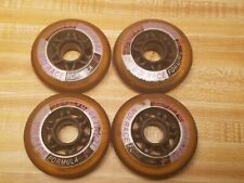 Team Labeda Series Mdi Race Formula 80Mm 78A Roller Blading Wheels Lot of 4