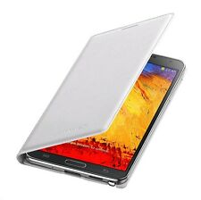 Genuine Samsung Leather FLIP CASE Galaxy NOTE 3 SM N9005 smart phone book cover