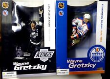 McFarlane Sports NHL Hockey 12 Inch Series 1 Wayne Gretzky 2 Figure Set 2004 New