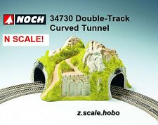 NOCH 34730 N Scale Double Track Curved Tunnel Scenery Mountain NEW *USA Dealer*