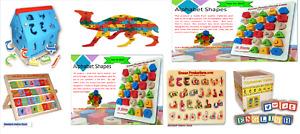 alphabet shapes / Alphabet White/Blackboard-Islamic Education Game