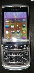 BlackBerry Torch 9810 (Zinc Grey) (Free phone case & car attachment)