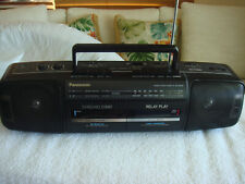 Panasonic Rx-Ft500 Boombox Stereo Am/Fm Radio Dual Cassette Player/Recorder