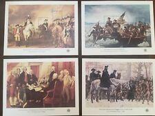 Scott 1686-1689 - MNH 1976 13c-31c Bicentennial Souvenir Sheets (set of 4)