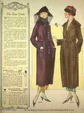 A4 Photo T Eaton Fall & Winter Catalogue 1920 21 The New Coats Print Poster