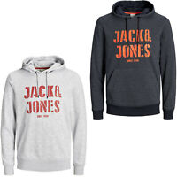 Jack & Jones Core Hoodie Mens Drawstring Brand Logo L/S Hooded Sweater