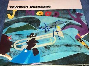 Wynton Marsalis Signed Autographed J Mood Record Album LP