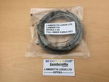 Lambretta serie 3 SX Conjunto completo de ampollas. calidad hecha de Cable Producto. nuevo