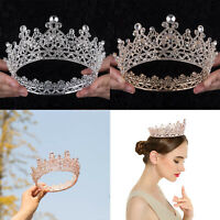 Baroque Pageant Queen Bridal Wedding Prom Tiara Crown Hair Accessories Headband