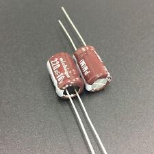 50pcs 220uF 16V Nichicon PM 8x12mm 16V220uF Super Low Impedance Capacitor