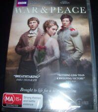 War & Peace (Lily James Paul Dano James Norton) (Australia Reg 4) BBC DVD - NEW
