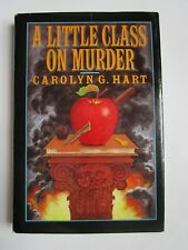 Death on Demand Mystery A Little Class on Murder by Carolyn Hart 1989 Hardcover