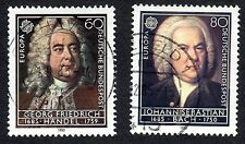 Germany: Europa - Composers 300th Birth Anniversaries; complete fine used set