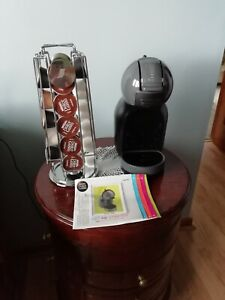 Nescafe Dolce Gusto coffee machine with revolving coffee pod stand