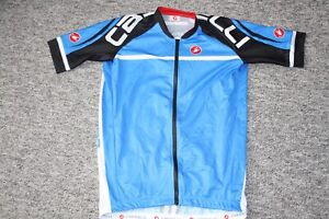 Mens Castelli cycling jersey worn once. Size L (more like a M)