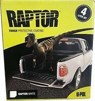 U-Pol Products Raptor White 2.6 VOC 4L (UPL-UP4808)