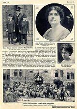 Die kaiserliche Gouvernementschule in Tsingtau Schüler u.Lehrer Gruppenbild 1911
