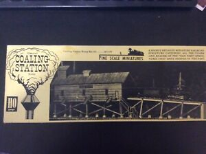 Fine Scale Miniatures FSM - Coaling Station - Kit #60  NOS