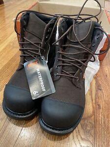 "WORX by Red Wing Shoes Men's 6"" Cordura Steel Toe Waterproof Work Boot"