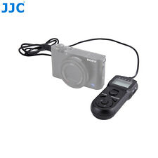 JJC Wire Multi-Function LCD Timer Remote for Sony A7S II A7 III A7R III RX100 IV