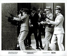 BORSALINO 1970 French Italian GANGSTER Tommy THOMPSON MACHINE GUNS Original 8x10