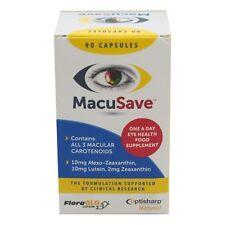 Macusave-Suplemento Vitaminas del ojo con meso-la zeaxantina, luteína, zeaxantina X 90