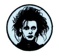 Edward Scissorhands Patch Iron on Applique Goth Punk Tim Burton Horror Occult