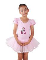 New Girls Pink Ballet Dance Tutu Dress 3-4 Years