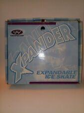 """""""Hesepeler-Xpander&# 034;Expandable Ice Skates/expands 4 sizes(13j-3) White"""