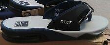 Reef 6210 Mens/Womens Fanning II Gray Thong Slide Flip-Flops Shoes 7M/8W