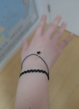 New Fashion Jewelry Women Bangle Set Rope Chain Bracelet Surprise Gift Black