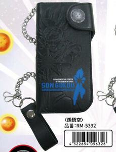 """""""Dragon Ball Super"""" Long Wallet with Chain Son Goku 4522654056326"""