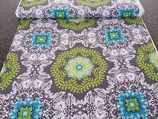 Impressions Fall 2012 Venice Ty Pennington BTY Green Teal Gray Floral Damask
