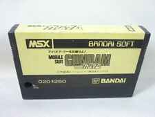 MSX MOBILE SUIT GUNDAM A BAOA QU Cartridge Import Japan Video Game MSX cart