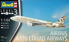 "AIRBUS A320 ""ETIHAD AIRWAYS"" REVELL 1/144 PLASTIC KIT"