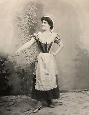 Mathilde Albertine CRAPONNE (1871-?)  Soprano Opéra-comique C 1904 Opéra