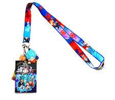 Dragon Ball Super Resurrection F Lanyard ID Holder & SSGSS Goku PVC Charm Legit