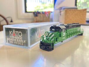 Kato SD40-2 N Scale Body Shell BN #6363 2/2