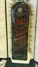 Johnnie Walker Scotch Whisky Blue Label Alfred Dunhill! Duty Free 1 Litre! Rare!