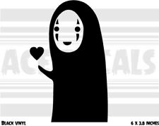 Spirited Away - No Face Love - Ghibli - Anime - Vinyl decal sticker
