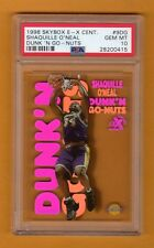 SHAQUILLE SHAQ O'NEAL 1998-99 EX E-X CENTURY DUNK'N GO-NUTS PSA 10 RARE LAKERS