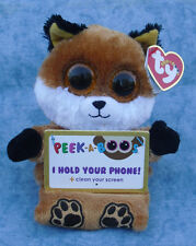 Carl ETTO Ty 00010 Sly Fox With Sparkle Eyes Peek a Boos Smartphone Holder