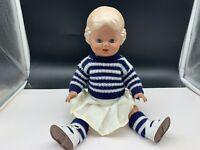 Schildkrötpuppe Zelluloid Puppe 34 cm. Top Zustand