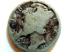 1927 Mercury Silver Dime Book Filler