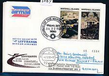 67404) LH FF Frankfurt - Muscat Oman 25.10.98, cd Marshall Isl. Invasion Balkan