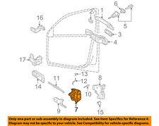 VW VOLKSWAGEN OEM 99-05 Jetta Front Door-Door Lock Kit 3B1837015AS