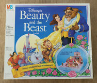 Walt Disney Beauty and The Beast Game - 3D Board Game Vintage 1991